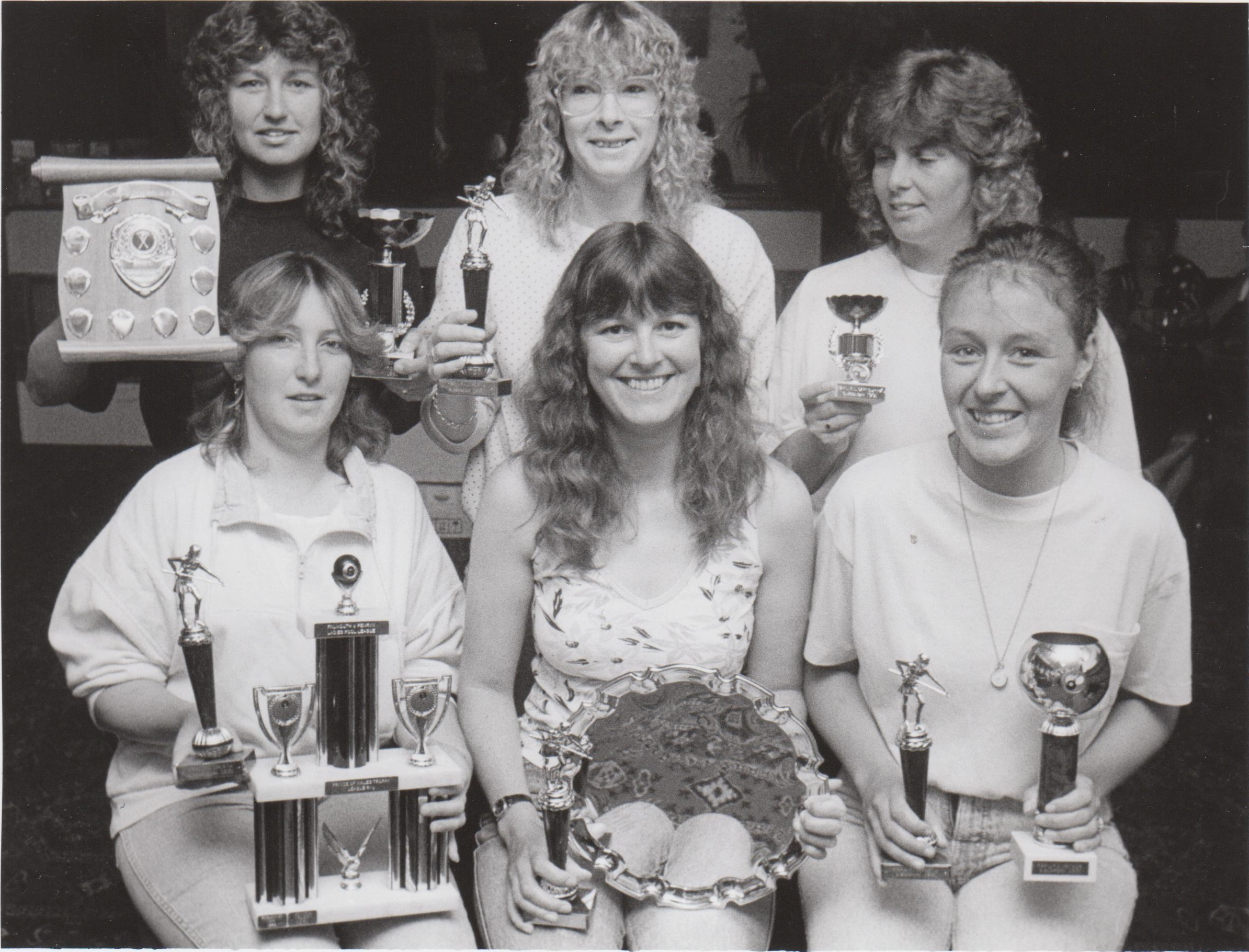 THIS week's Golden Oldies photograph is of the Falmouth and Penryn Ladies Pool League winners and runners-up in Sptember 1991