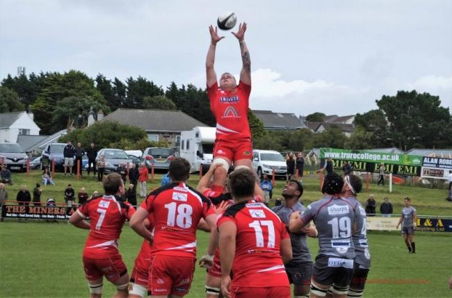 Redruth suffered their first defeat of the National League 2 South season