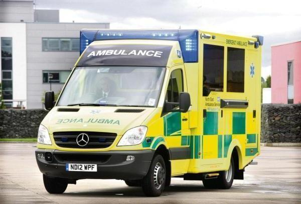 One paramedic a month injured getting out of ambulances, figures show