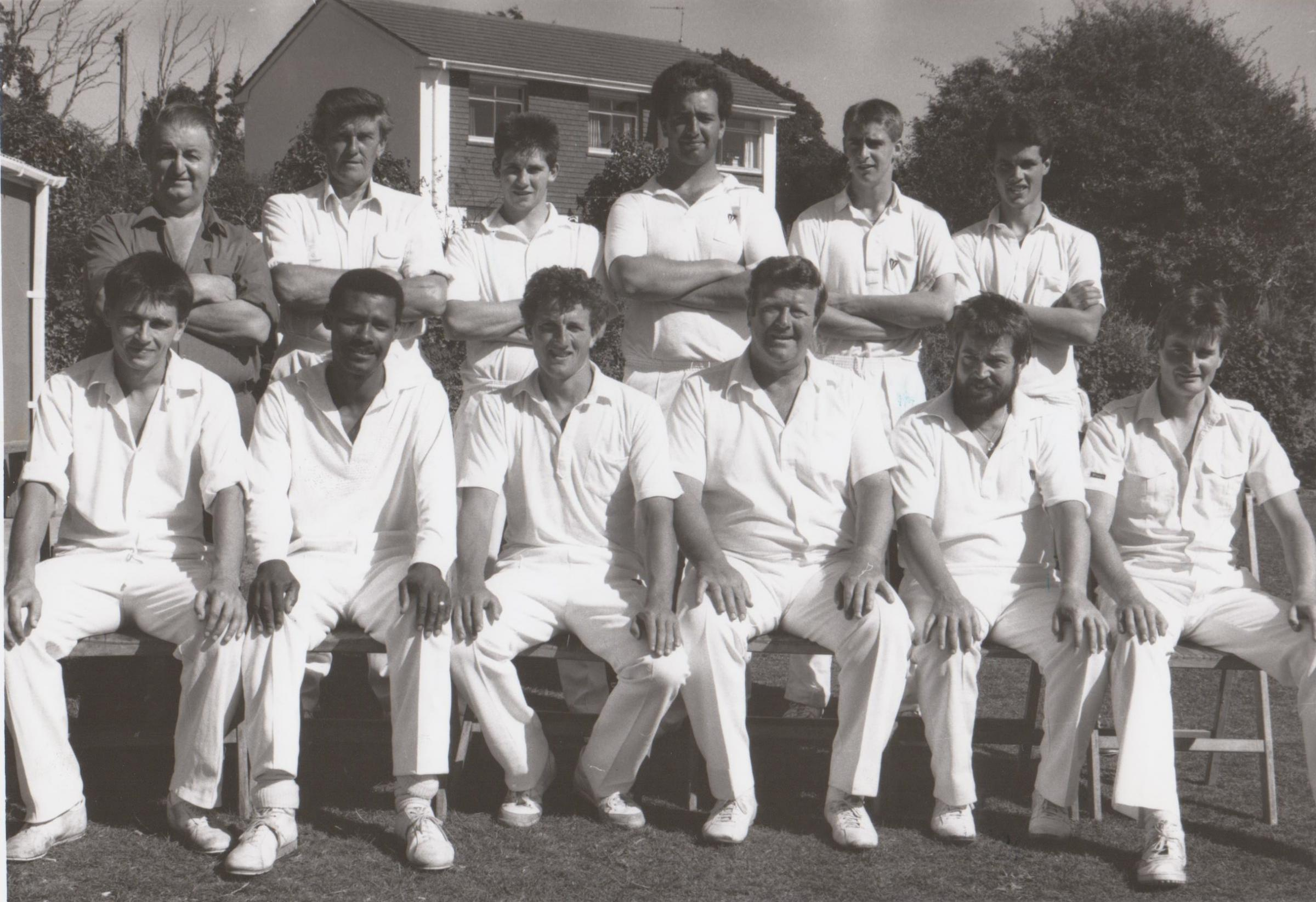 THIS week's Golden Oldies photograph is of the Mullion cricket team before their game with Goldsithney in July 1989