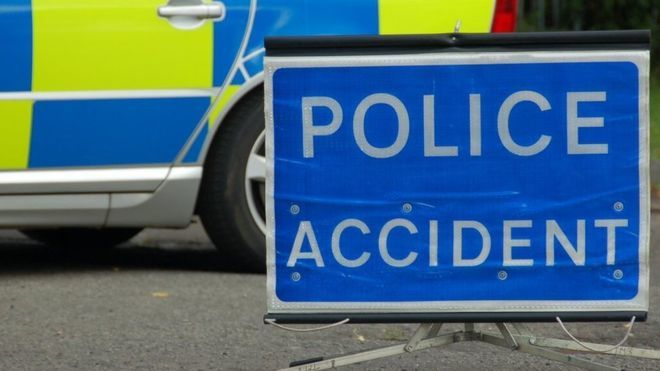 Accident on A394 near boating lake