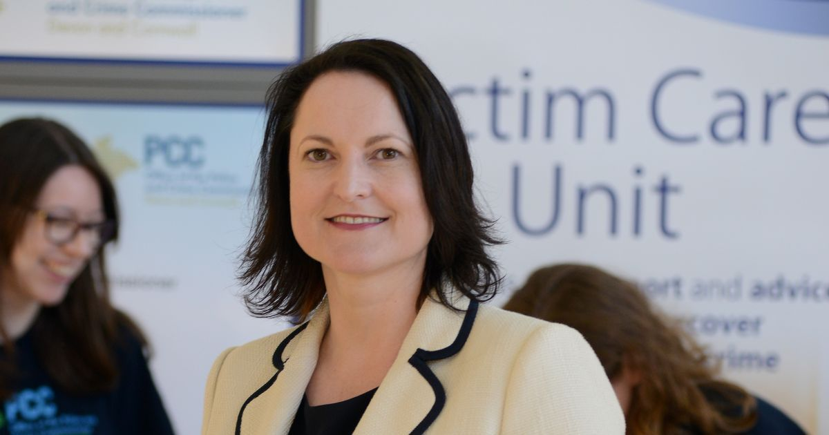 Alison Hernandez, Police and Crime Commissioner for Devon and Cornwall
