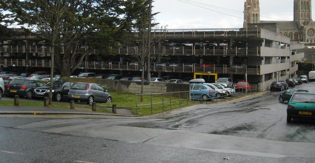 Moorfield Car Park in Truro, where the alleged exposure took place. Photo: Rod Allday (stock, cropped)