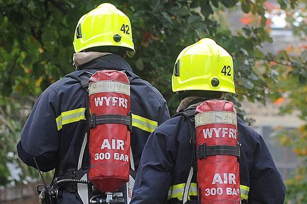 Fire crews deal with grain dryer alight