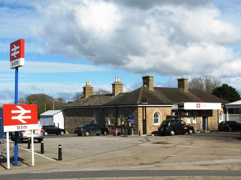 St Erth Station is becoming a transport 'hub' for west Cornwall. Photo: Geof Sheppard ( stock)