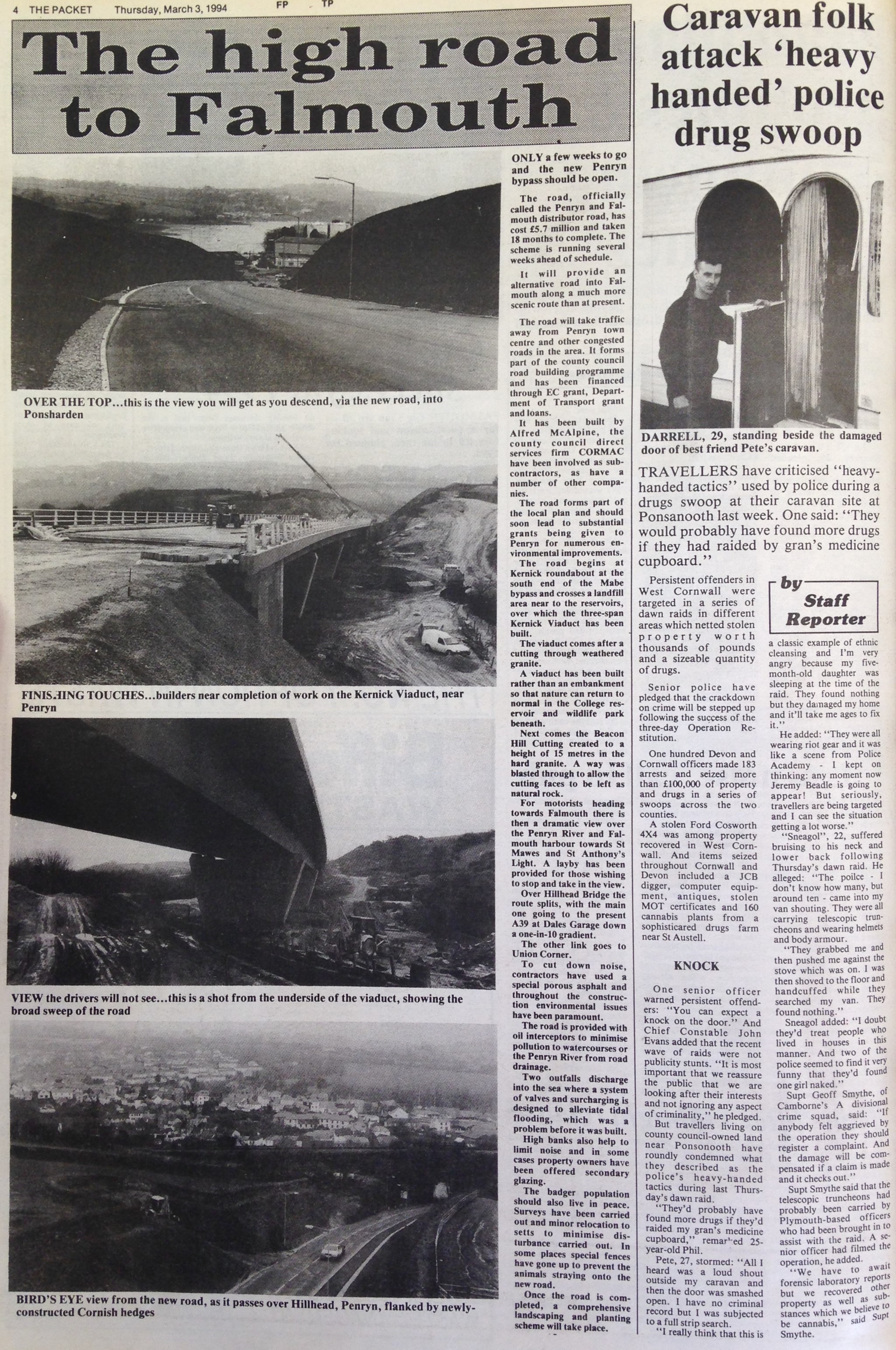 25 Years Ago: Only a few weeks to go for the new Penryn bypass