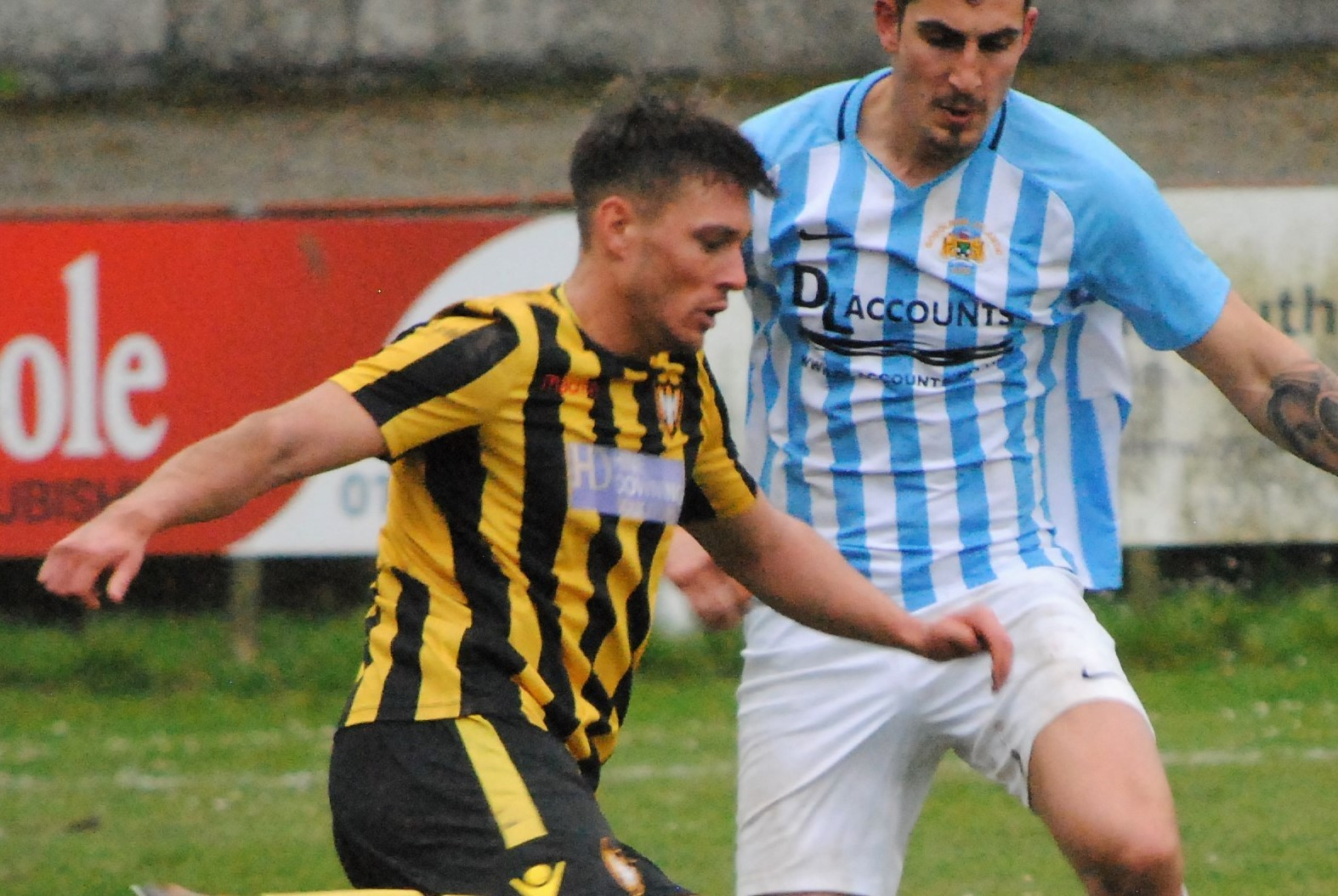 Luke Brabyn scored twice and assisted another in Falmouth Town's 3-1 win at home to Godolphin Atlantic on Saturday