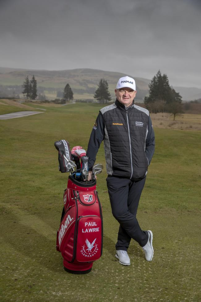 Paul Lawrie, who will play at Trevose Golf & Country Club later this year