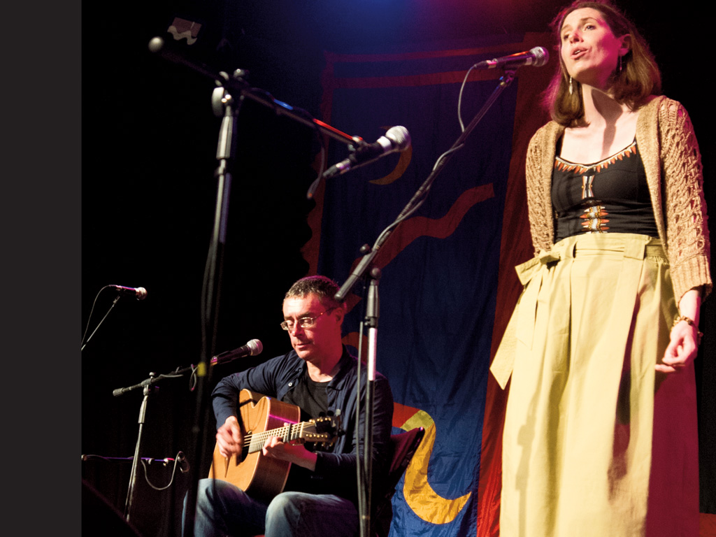 Katie Kirk and Rick Williams at St Ives September Festival