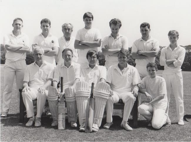 This week's photograph is of Helston Cricket Club ahead of their match at Mawnan CC on June 13, 1992