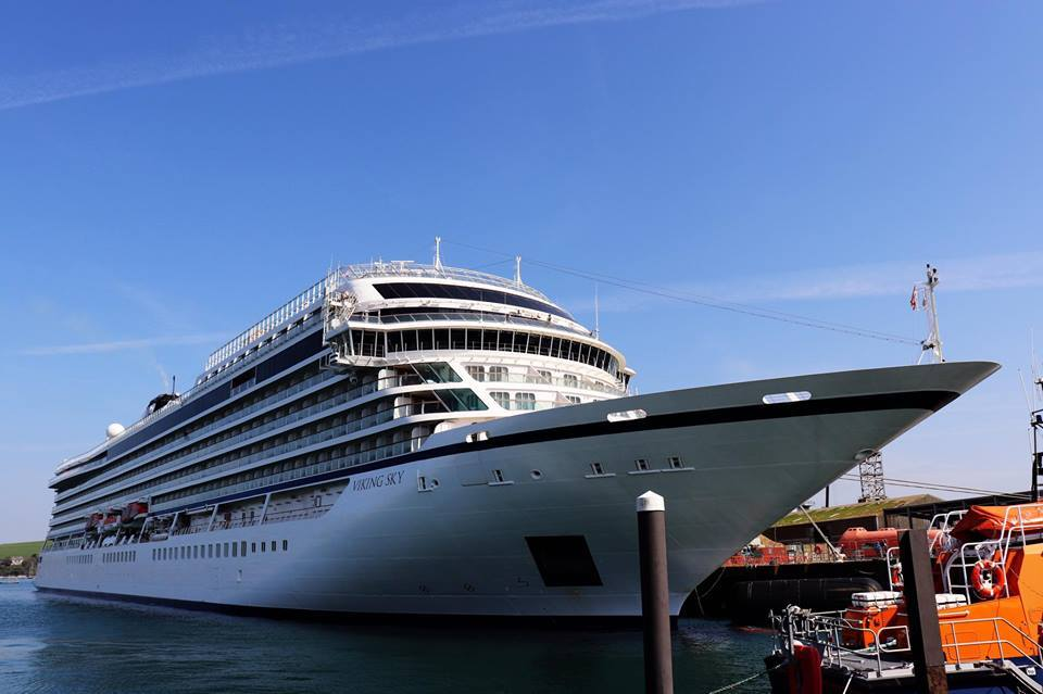 Viking Sky cruise ship at centre of evacuation in stormy seas is due to visit Falmouth this year