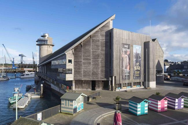 National Maritime Museum Cornwall. Picture by Paul Abbitt