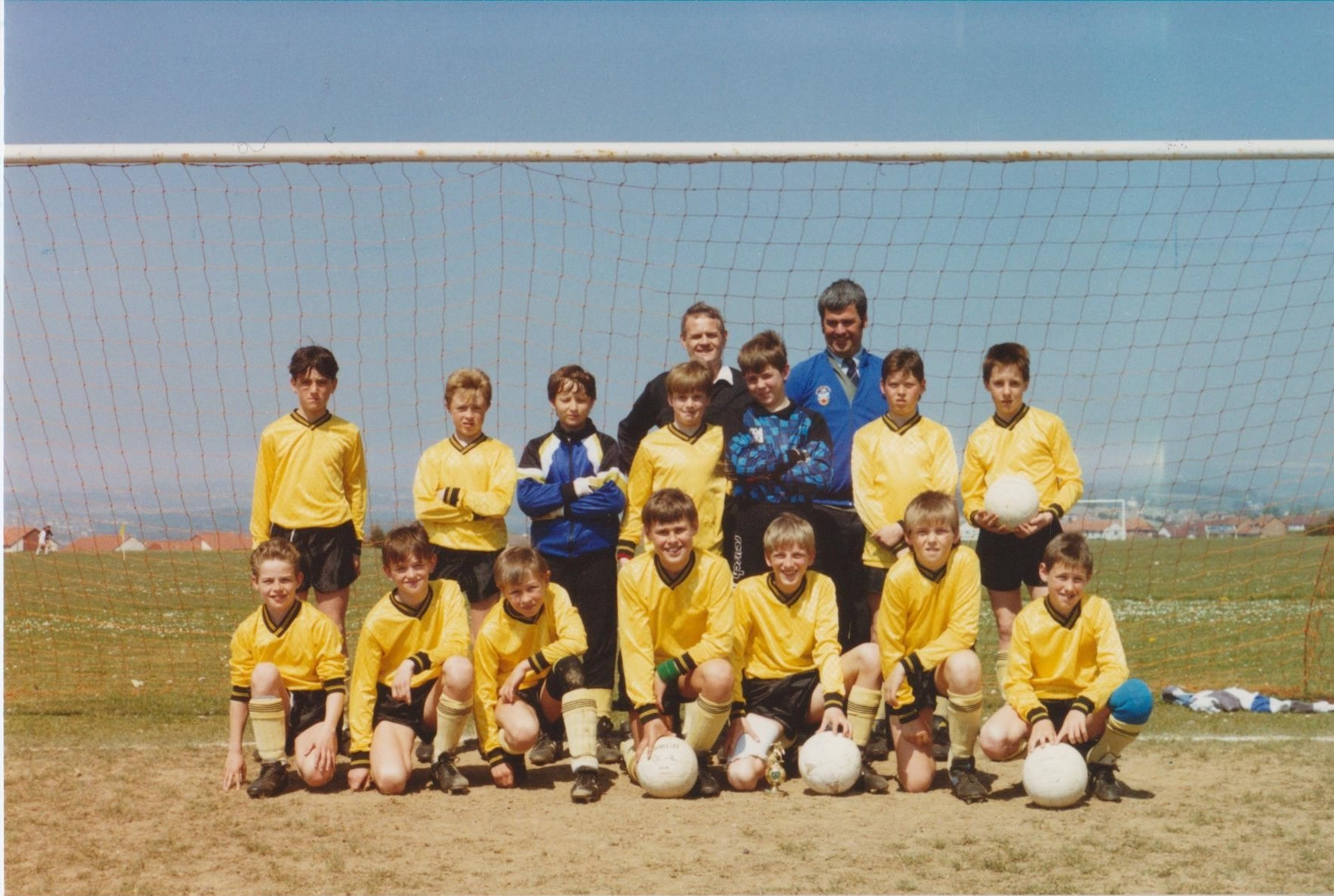 This week's photograph is of the West Cornwall Boys' League's under-12 side, taken in May 1990.