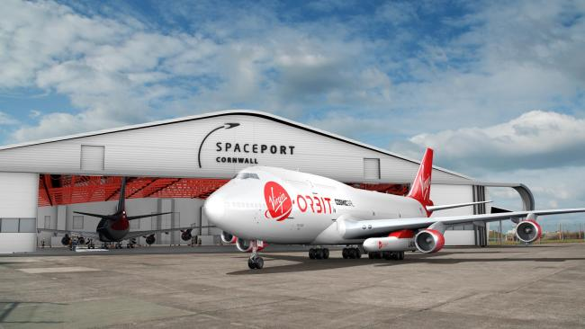 The Virgin Orbit craft which could fly from Spaceport Cornwall in future