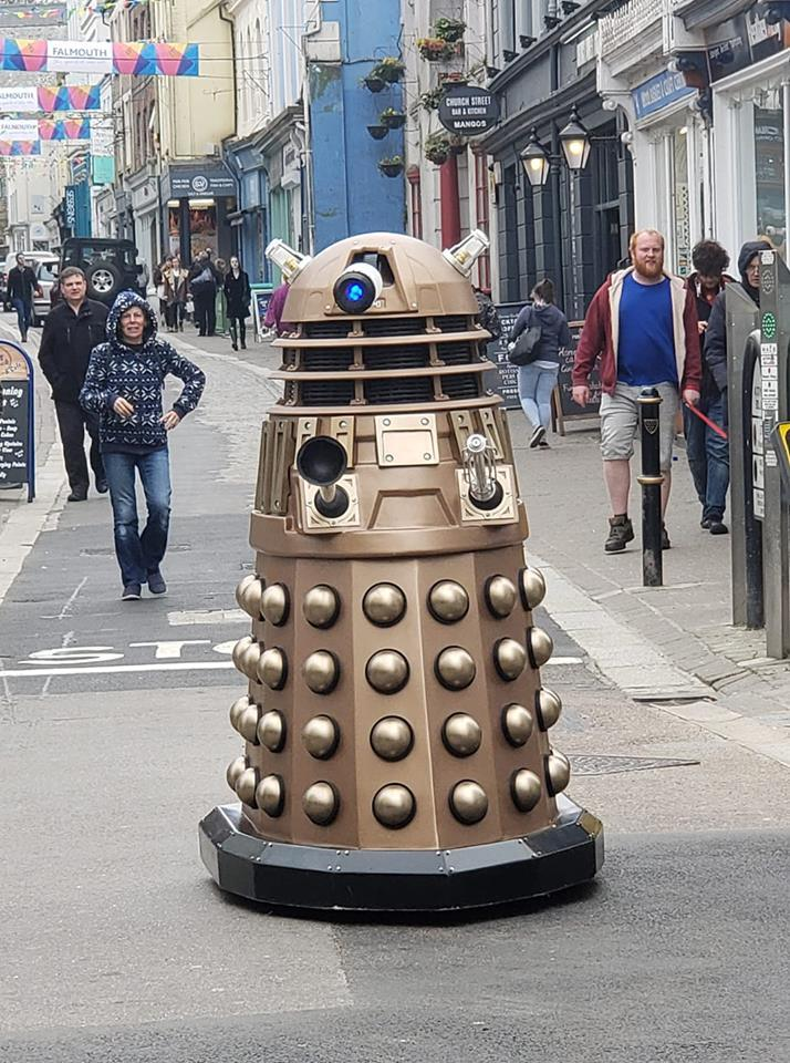 Bren Carter takes his latest Doctor Who creation on to the street