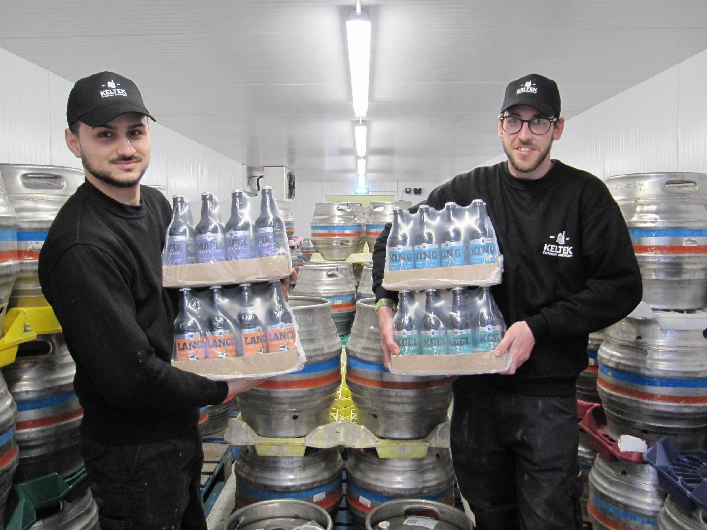 Keltek Cornish Brewery in Redruth raises glass to Co-op
