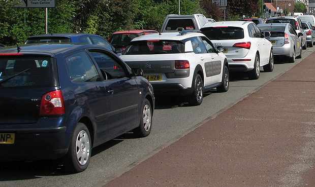 Easter traffic delays on roads across Cornwall including A30