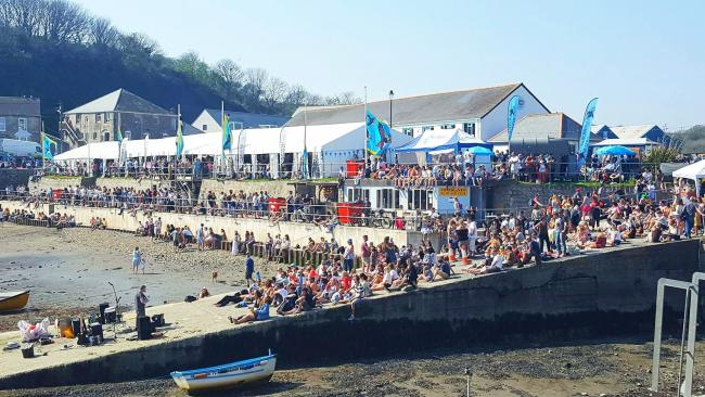 Organisers of Porthleven Food Festival are hoping for a similarly busy event to 2018