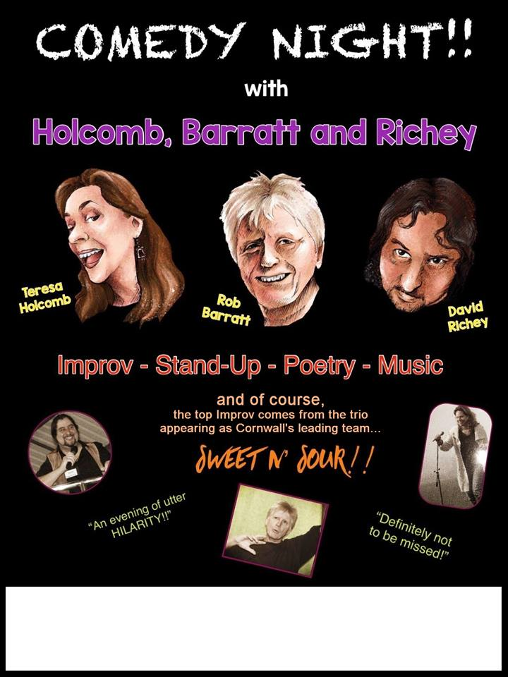 Comedy Night with Holcomb, Barratt & Richey