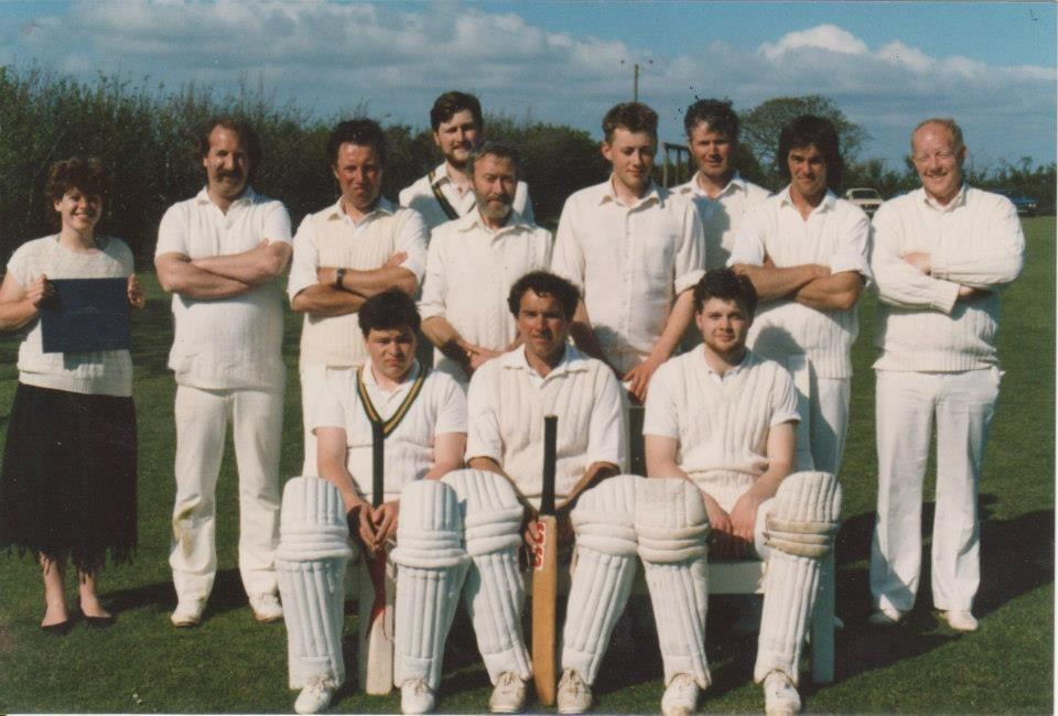 This week's photograph is of the Mawnan CC first team, believed to be from around 1985