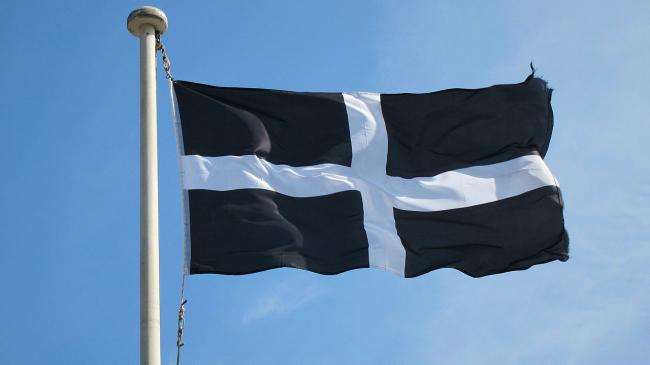 Cornwall St Piran Flag (Image: Proper Handsome/Creative Commons)