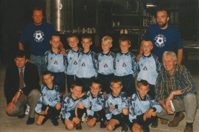 This week's photograph is of the Falmouth United under-9s team, pictured in July 1997.