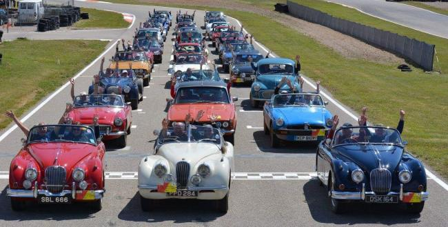 The classic cars will be in Falmouth Sunday. Photo: Grand Tour Cape to Cape classic car rally