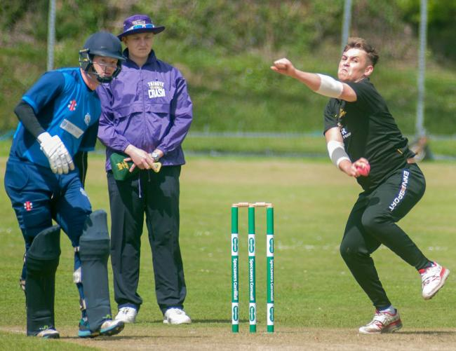 Falmouth lost to Wadebridge by 149 runs in their first Premier Division game of the season. Picture by Colin Higgs