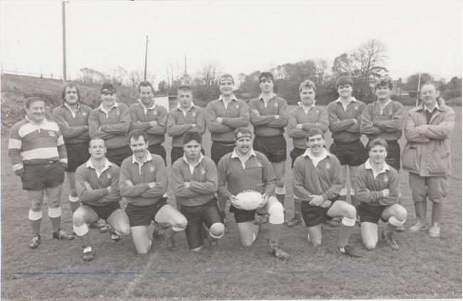 This week's photograph is of the Redruth Albany team from November 1991