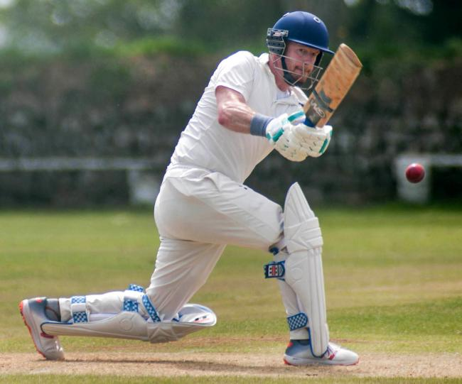 The defeat was Helston's first in six matches. Picture by Colin Higgs