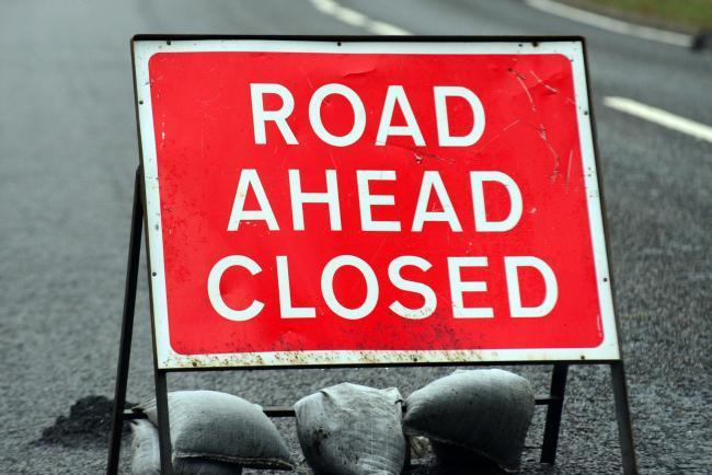 Two weeks of road closures to begin on main road out of Helston