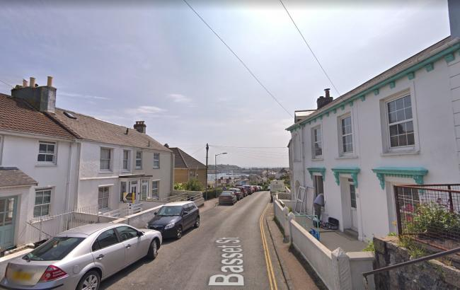 The attack happened in Basset Street. Picture: Google