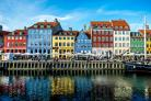 Corlorful houses in Nyhavn