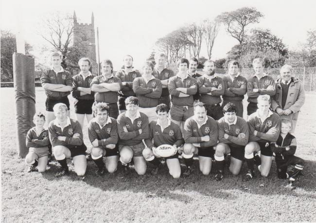 This week's photograph is of Stithians RFC, taken in October 1990