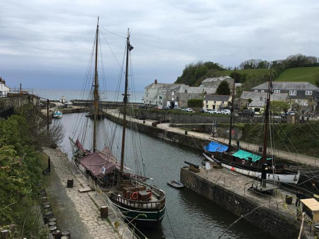Charlestown Harbour (Image: LDRS/Richard Whitehouse)